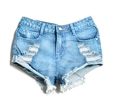 Original Boyfriend 320 Shorts - Arad Denim