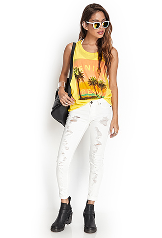 Venice Beach Muscle Tee | FOREVER 21 - 2000067198