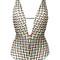 Missoni zig zag swimsuit, women's, size: 40, elastodiene/nylon/polyester/rayon