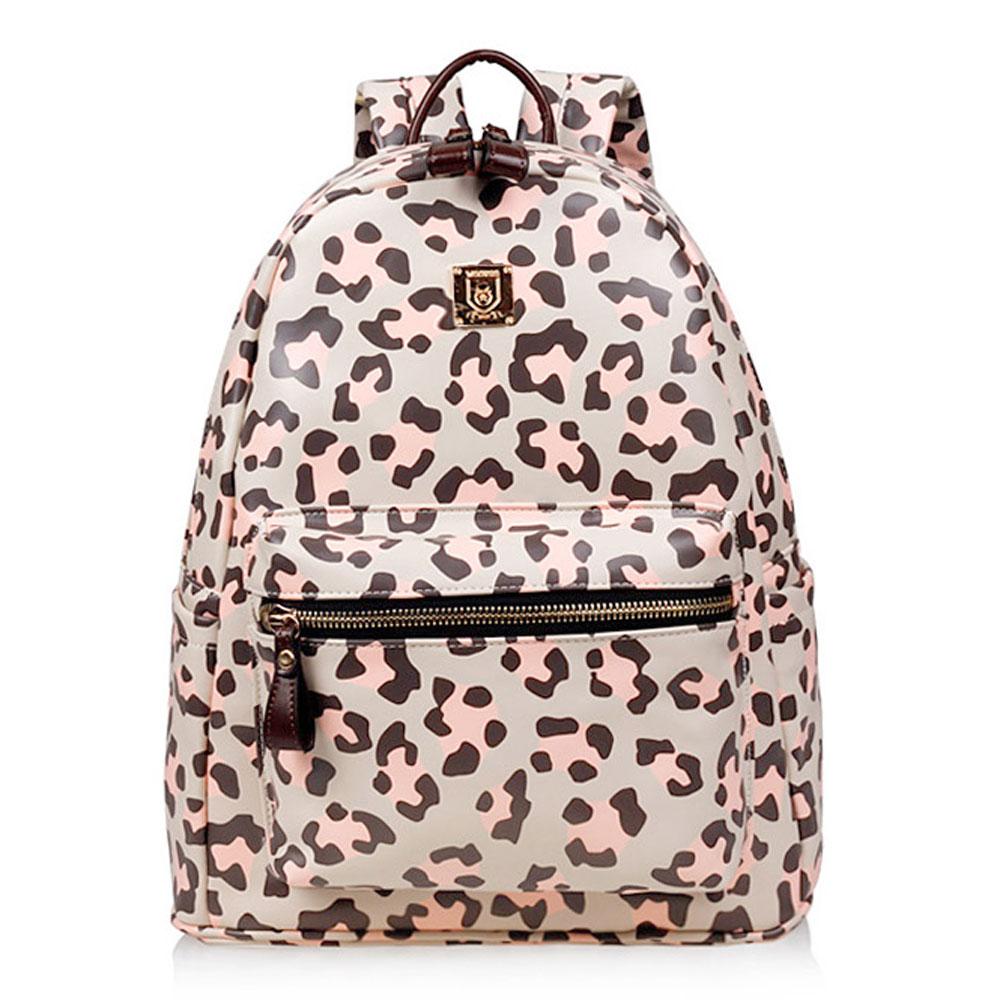 Leopard Print School Travel Gym Shoulder Bag Backpack [grxjy520326] on Luulla