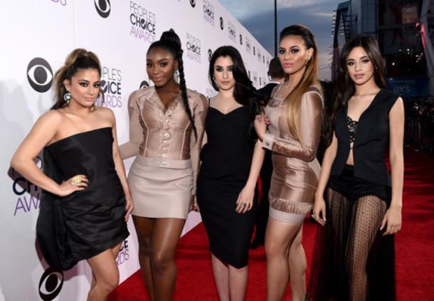 Ally Brooke people's choice awards earrings lauren jauregui Fifth Harmony lauren conrad camila cabello Dinah Jane Hansen