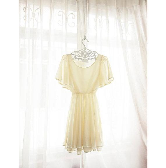 Romantic Cream Gatsby Soft Audrey Hepburn by RiverOfRomansk
