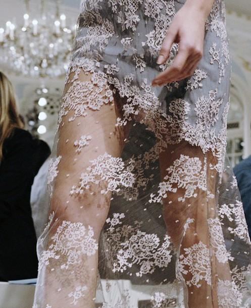 dress elegant see through dress
