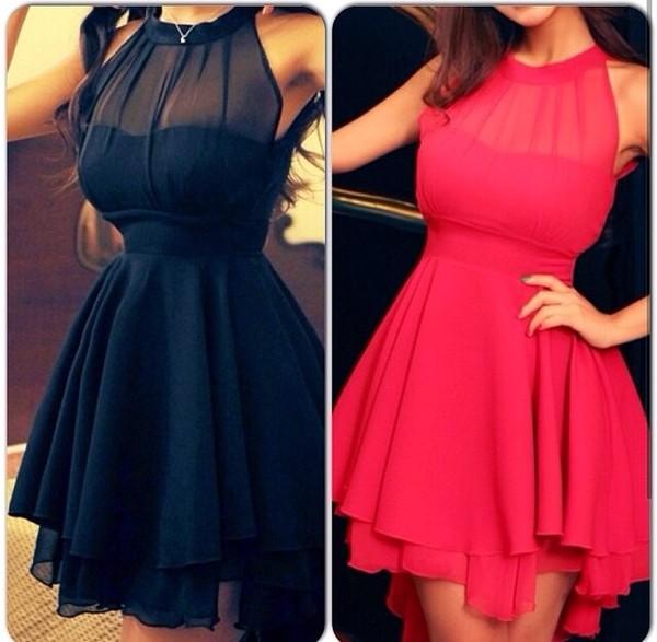 dress black red little black dress little pink dress black dress with see through top part black see through top part black dress bleu dress black dress