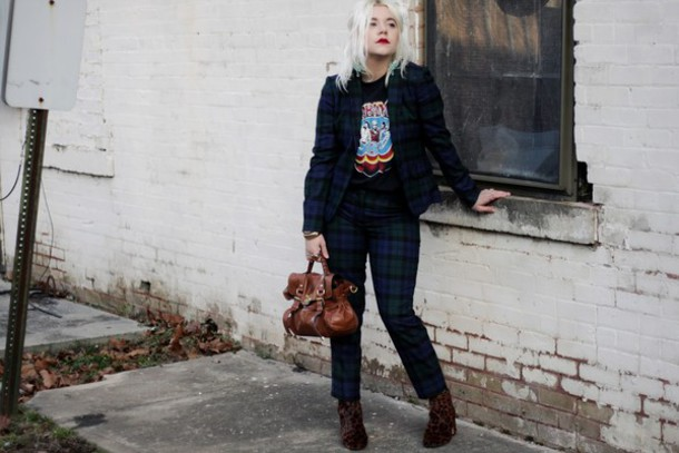 styles by hannah riles blogger jacket pants t-shirt shoes bag