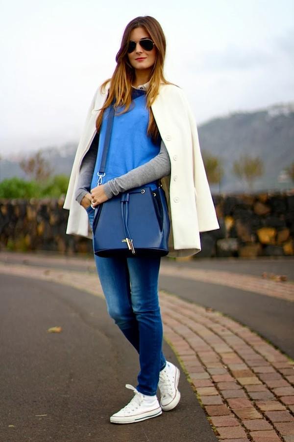 marilyn's closet blog bag coat jeans shoes