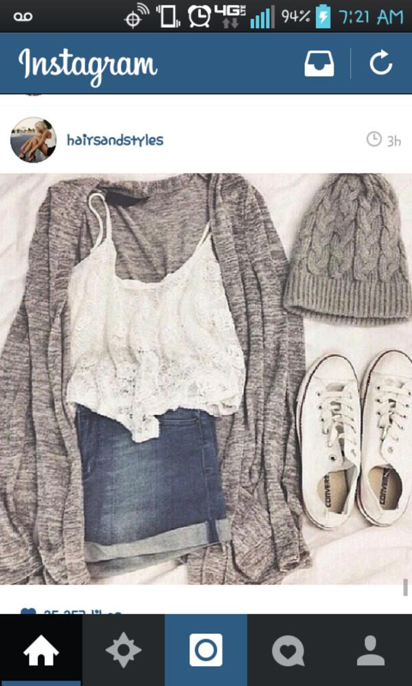 shorts High waisted shorts blouse