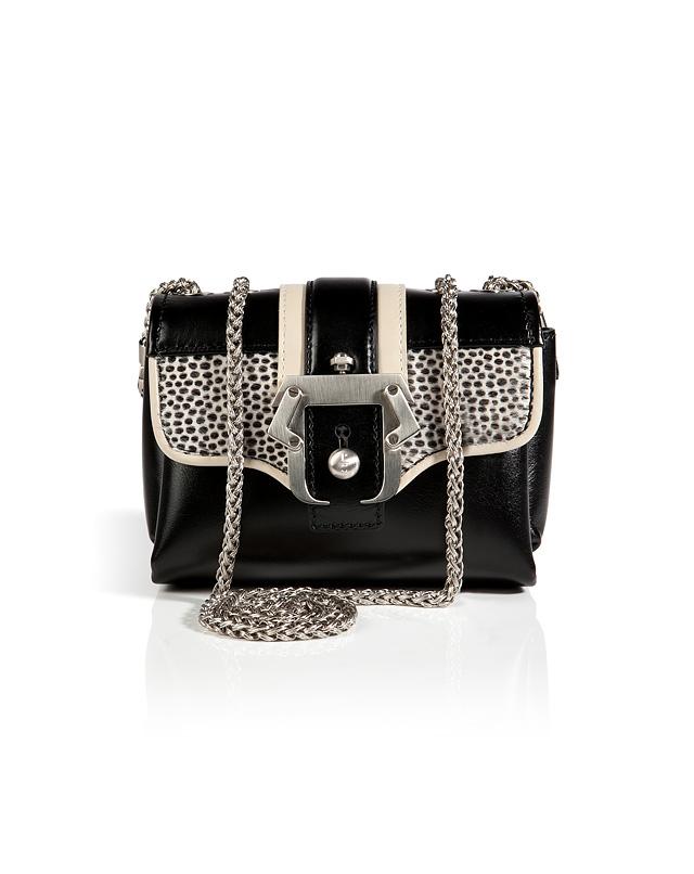 Leather/HorsehairKateCrossbodyBaginBlackfromPAULACADEMARTORI   Luxury fashion online   STYLEBOP.com
