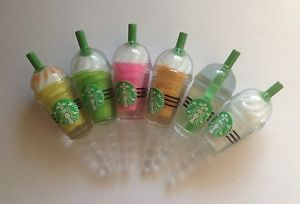 Starbucks Frappuccino Anti Dust Plug New Cell Phone Charm 6 Color Choices | eBay