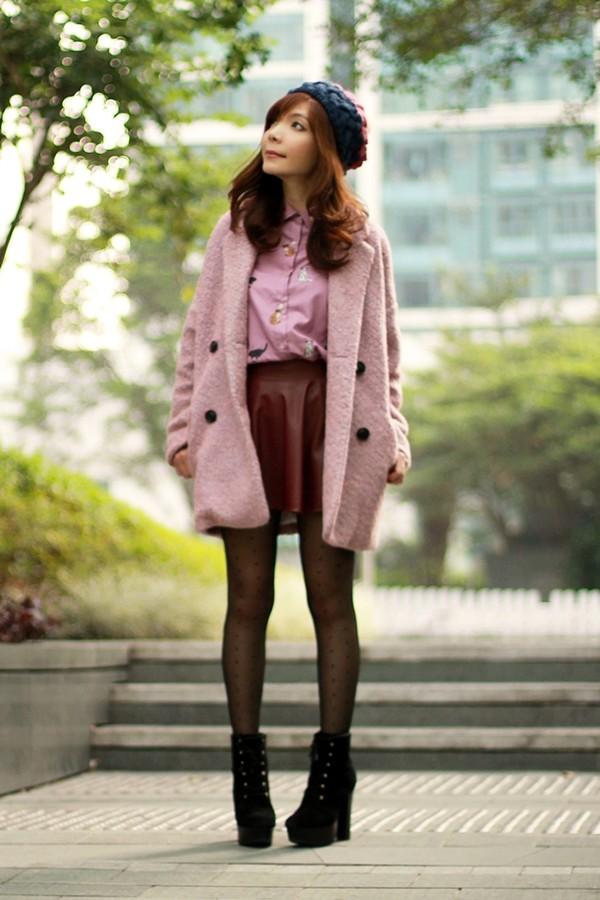 mochaccinoland coat shirt skirt hat