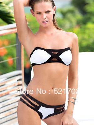 Free shipping  New  Fashion Sexy Women VS Bikini Swimwear-in Bikinis Set from Apparel & Accessories on Aliexpress.com