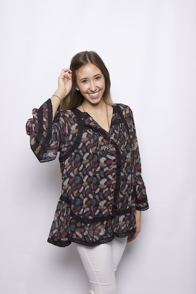 Monica Blouse - Darling Clothing