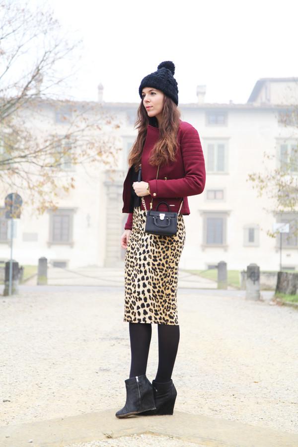 irene's closet jacket skirt shoes hat bag