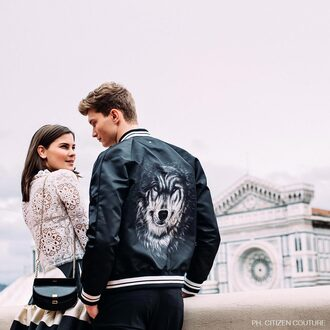 jacket valentino designer luxury high end spring/summer latest fashion trends wolf black jacket menswear italian jacket european blogger fashiioncarpet citizen couture firenze4ever fairy tale romantic