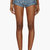 rodarte blue zebra runway denim shorts