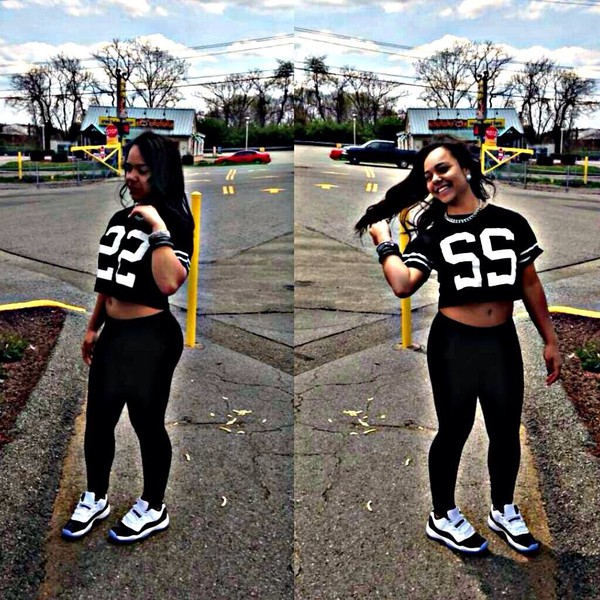 shirt jersey shirt jordans black and white shoes