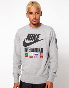 Nike | Nike Sweatshirt International Crew Neck at ASOS