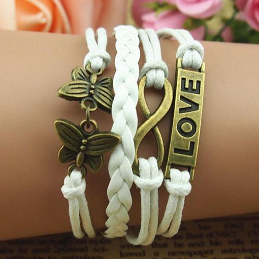 Leather Bracelets,Leather Wrap Bracelet,Leather Bracelets For Women