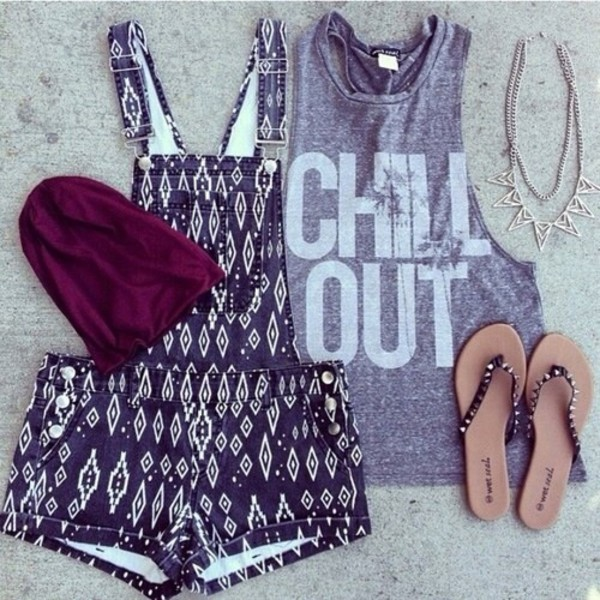 pants funny shorts shirt chill out summer shoes romper