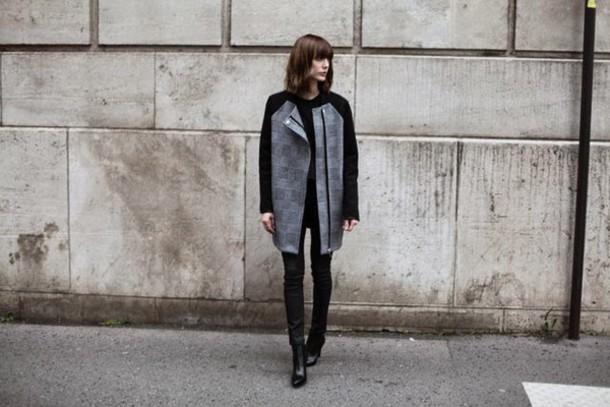 into your closet blogger coat pants shoes