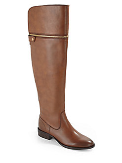 Ash Leather Riding Boots - SaksOff5th