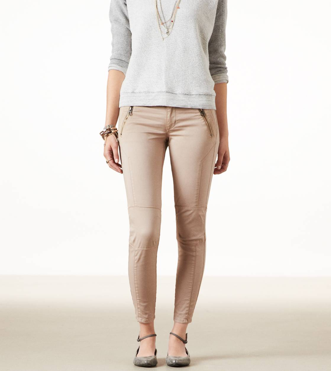 AE Moto Jegging Ankle | American Eagle Outfitters
