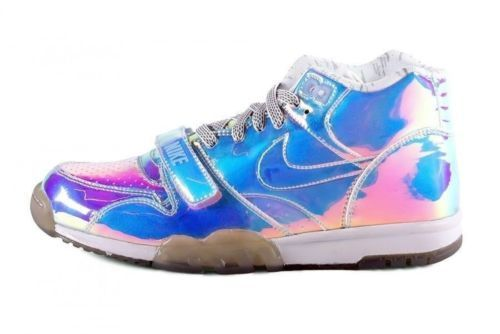 "Nike Air Trainer 1 Mid PRM QS 'Super Bowl' Sz 11 5 Hologram ""Nike Knows"" Shoe 