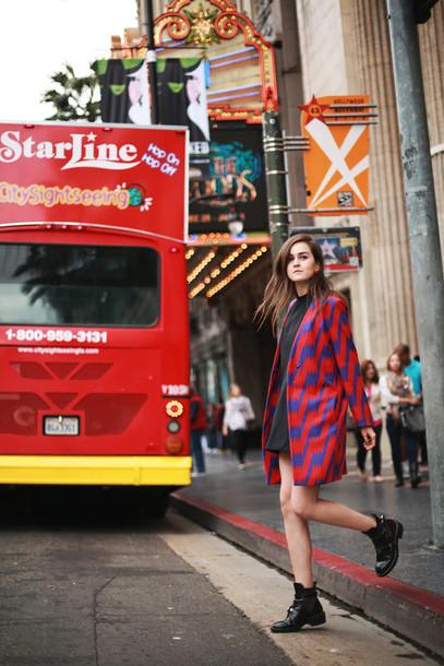 style scrapbook blogger coat dress bag shoes