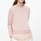 Silk panel sweatshirt