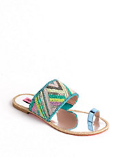Raffi Toe Thong Sandals | Lord and Taylor