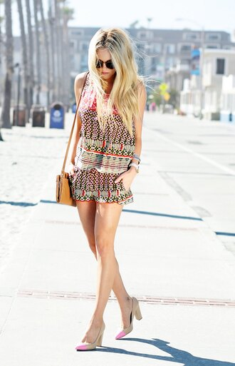 cheyenne meets chanel t-shirt shorts shoes bag sunglasses