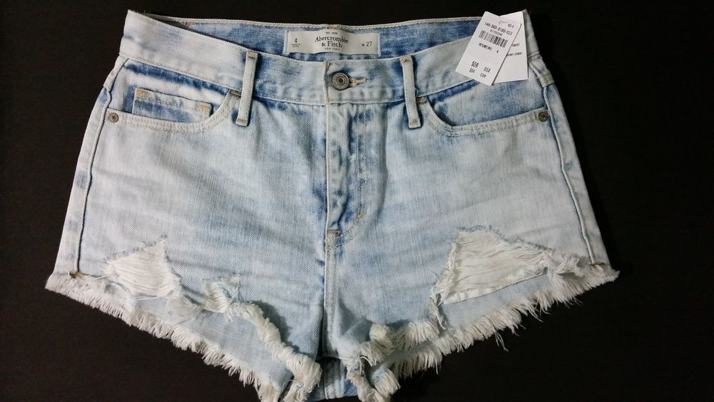 Abercrombie High Rise Short | eBay