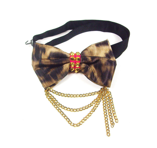 Leopard Bow Tie | Created by Fortune