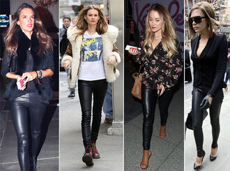 leggings celebrity style outfit outfit idea streetstyle