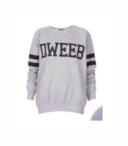 shirt grey sweater