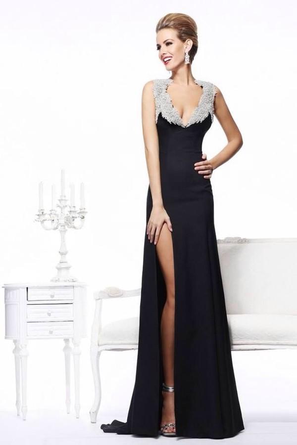 dress black dress black prom dress