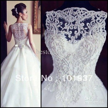 Aliexpress.com : Buy Free Shipping New Gorgeous Mermaid Real Sample Cap Sleeve Beading Crystal Court Train Formal Evening Gowns Dresses EM01 from Reliable dress wedding gown suppliers on Suzhou Babyonline Dress Co. , Ltd