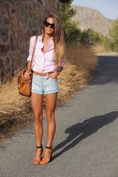seams for a desire shirt shorts bag shoes belt jewels sunglasses