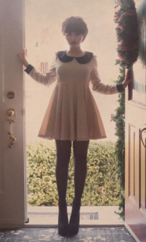dress dress pink pink dress cute cute dress vintage girly fashion fashion dress black black dress