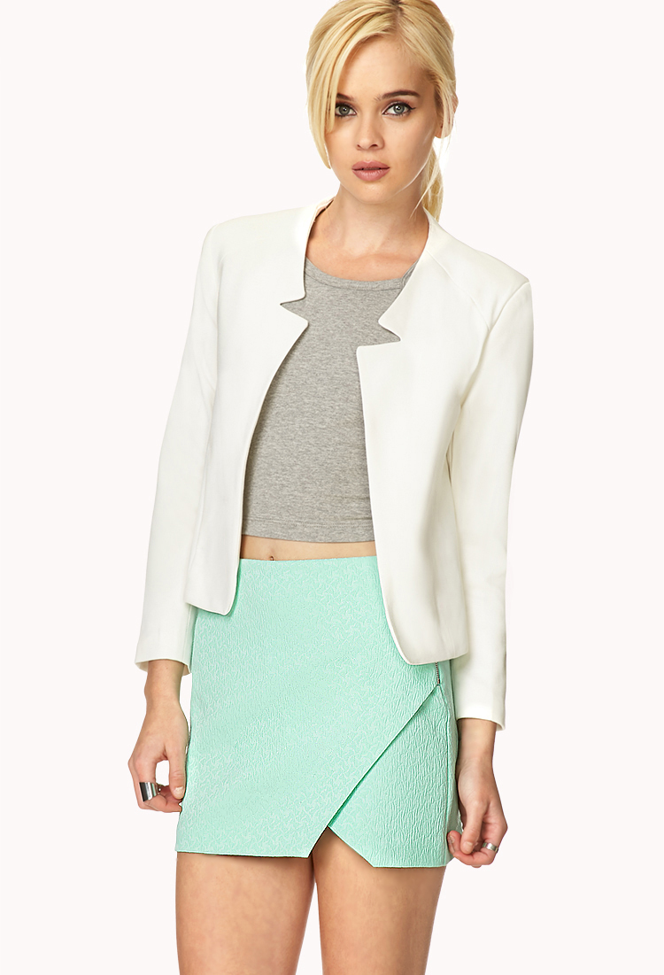 Matelassé Origami Skirt   FOREVER21 - 2000125639