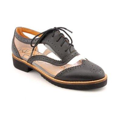 Amazon.com: Kelsi Dagger Myler - Black Clear Nappa: Kelsi Dagger: Shoes