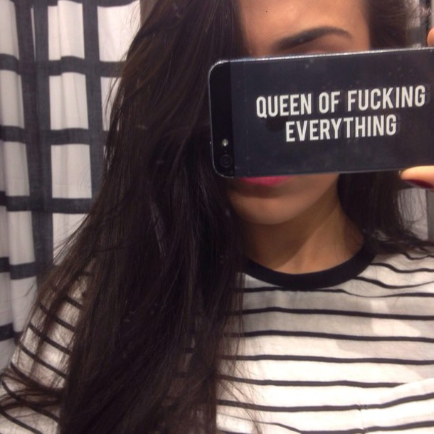 phone cover queen phone cover transparent case queen of fucking everything iphone case iphone 6 case