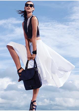 Sergio Rossi Godiva Pointy Toe Glossy Leather Pump: Ecru   Shop IntermixOnline.com