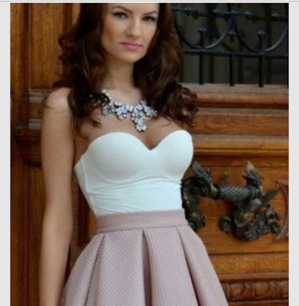 top corset top white top