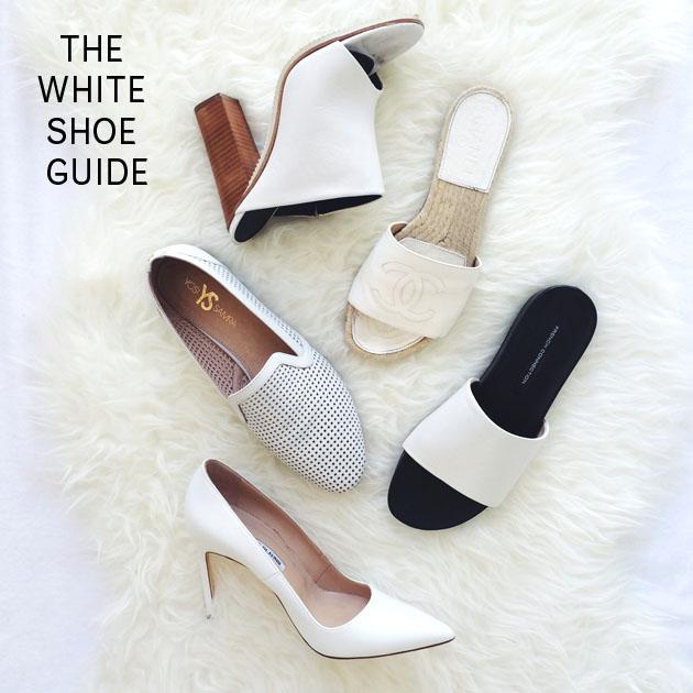 The White Shoe Guide