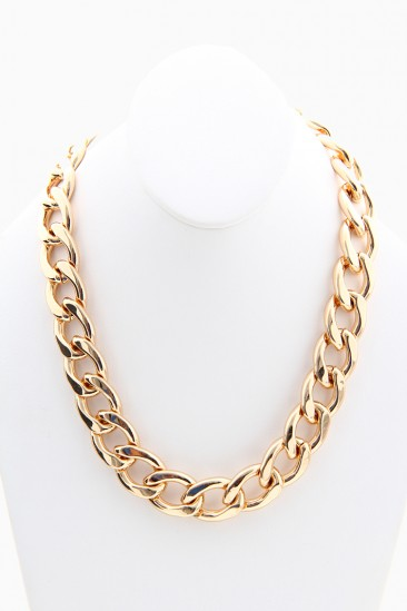 OMG Rihanna Chain Necklace - Gold
