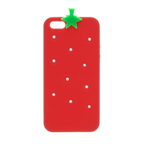 Bling Strawberry Phone Cover -  iPhone 5/5S Compatible, Tech Sale , all, Sale, View All... Fashion trends, accessories and jewellery for young women