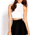 Fresh Ribbed Crop Top | FOREVER 21 - 2000071135