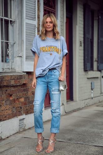 tuula jeans t-shirt shoes bag belt jewels