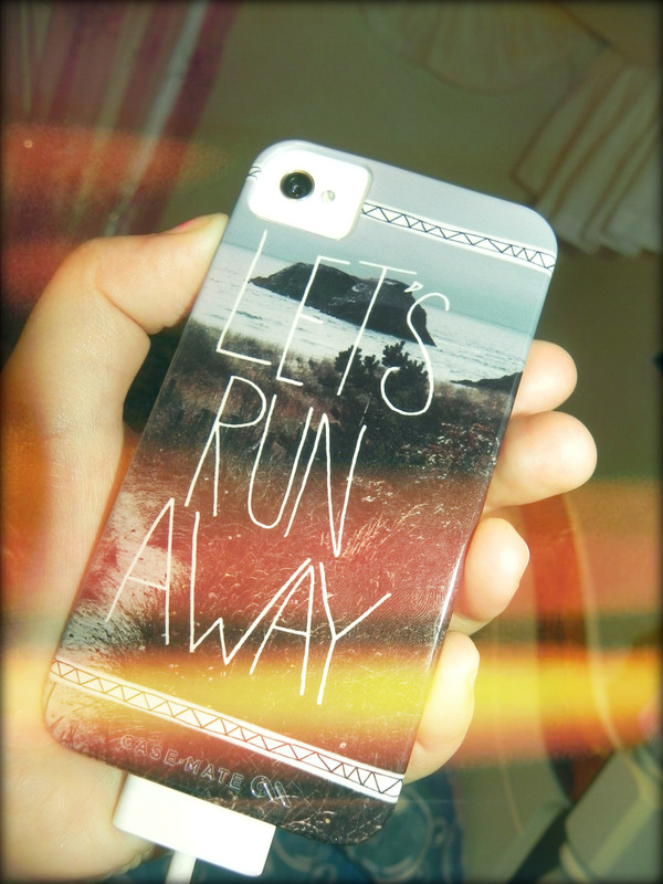 jewels phone cover beach let's run away iphone case t-shirt phone cover